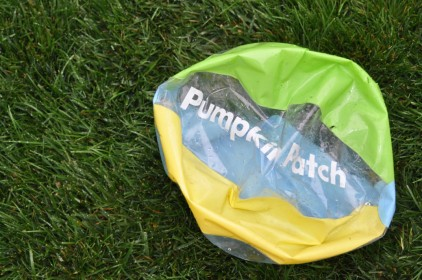 Punctured Beach Ball