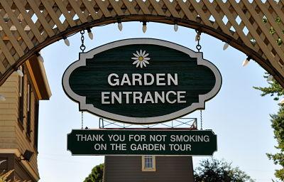 Winchester Mystery House Garden Entrance