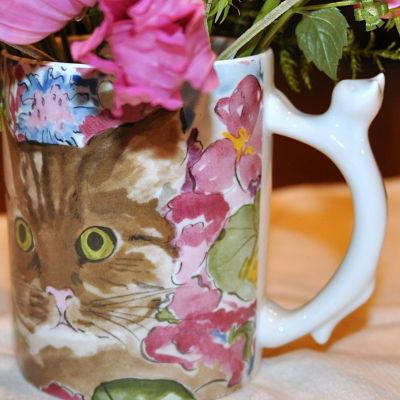 Cat Mug Handle