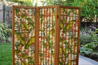 Re-covered Shoji Screen