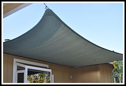 Will a shade sail have too much pull on 4x4x12' posts? - Home