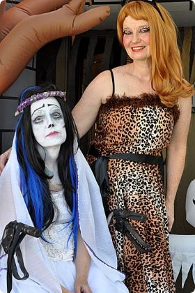Corpse Bride and Bela Pilar Dress