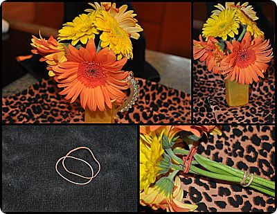 cut flowers rubber-band recovery