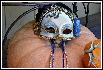 Mardi Gras Pumpkin