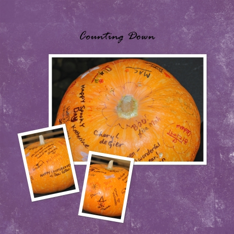 Pumpkin collection signature