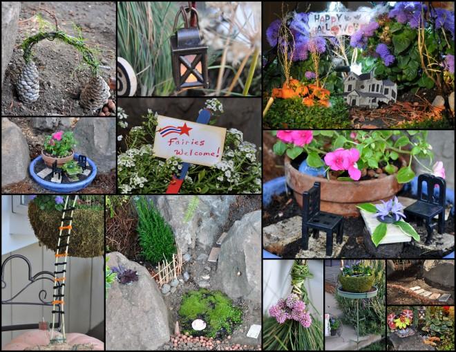 Fairy Garden Collage