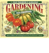 farmer's almanac 2013 calendar