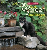 Cat in the garden calendar