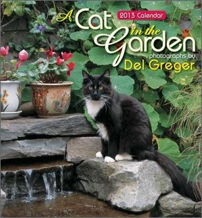 Cat in the garden calendar