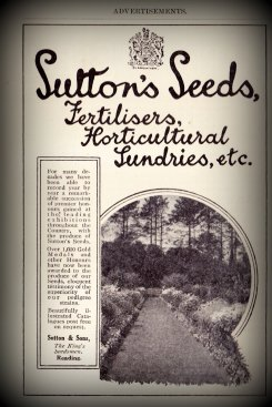 Sulton's Seeds, Fertilisers, Horticultural Lundries