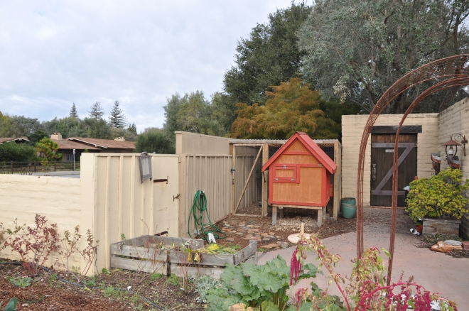 Wine Country Chicken Coop