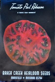 Tomato Paul Robeson Heirloom Seeds