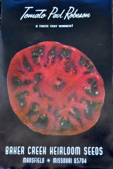 Tomato Paul Robeson Heirloom Seeds