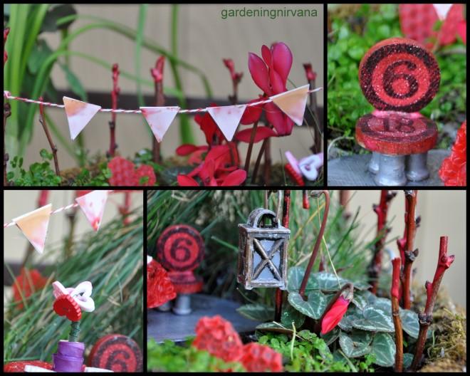 Valentine's Day Fairy Garden