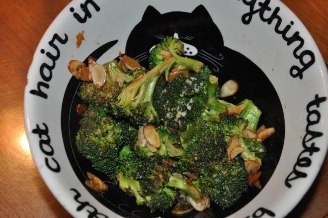 Broccoli Sauteed in Garlic and Olive Oil