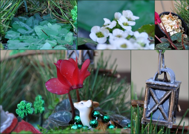 St. Patrick's Day Fairy Garden
