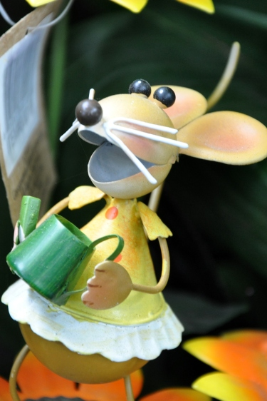 Garden Mouse Whimsy