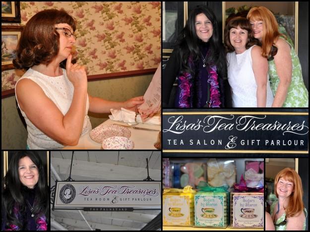 Lisa's Tea Treasures with Boomdee and Sharon