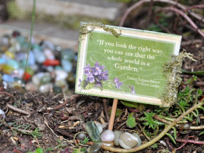 Secret Garden Quote
