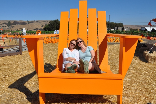Large adirondack chair