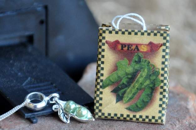 pea shopping bag