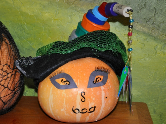 fashionable pumpkin