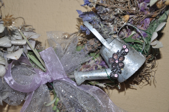 Garden Wreath Details