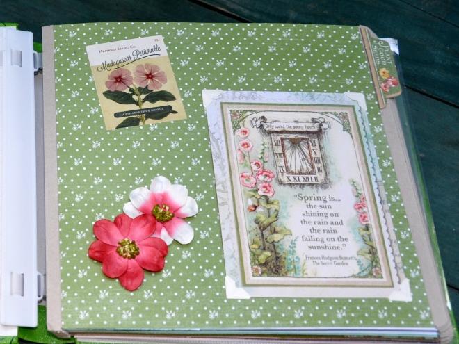garden journal page 1