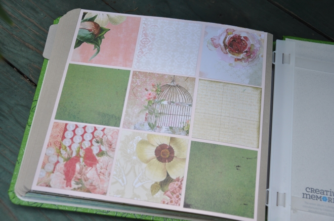 garden journal back cover