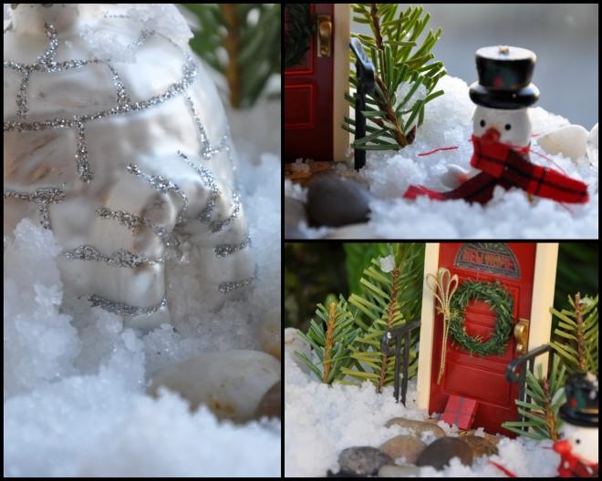snow globe details