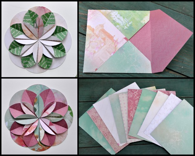 Envelopes and card detail