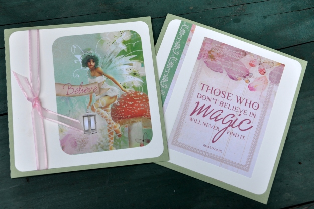 Enchanted Garden Cards