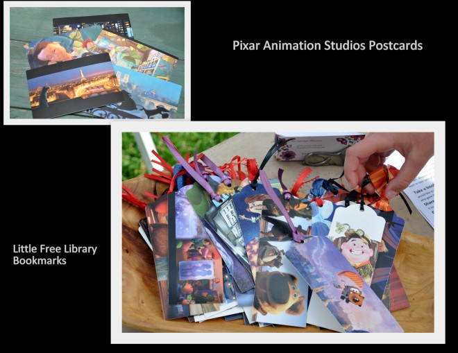 Postcard bookmarks