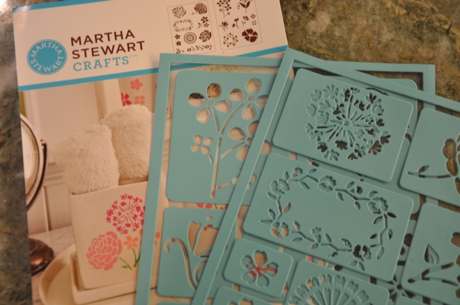 Martha Stewart Craft stencilsDSC_0007