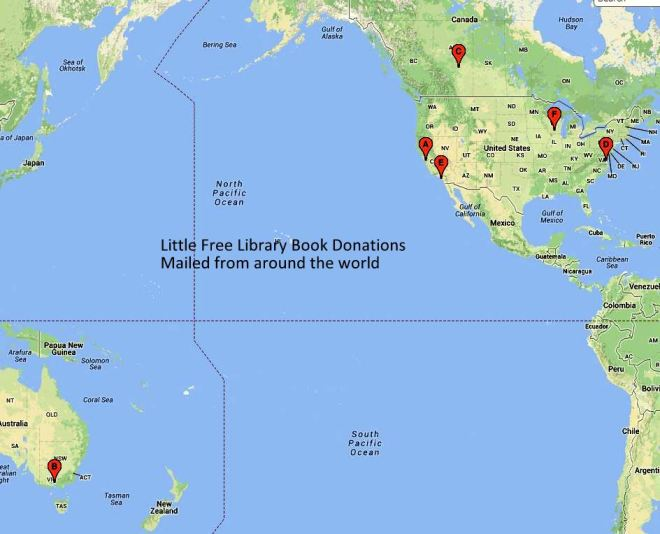 little free library geo map
