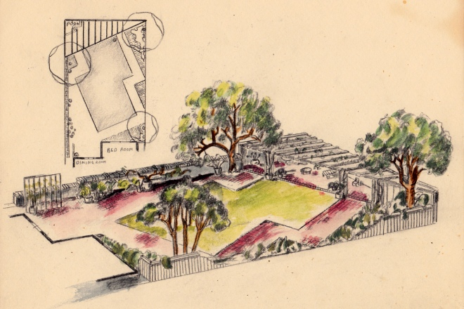 Dad's Landscape Drawing