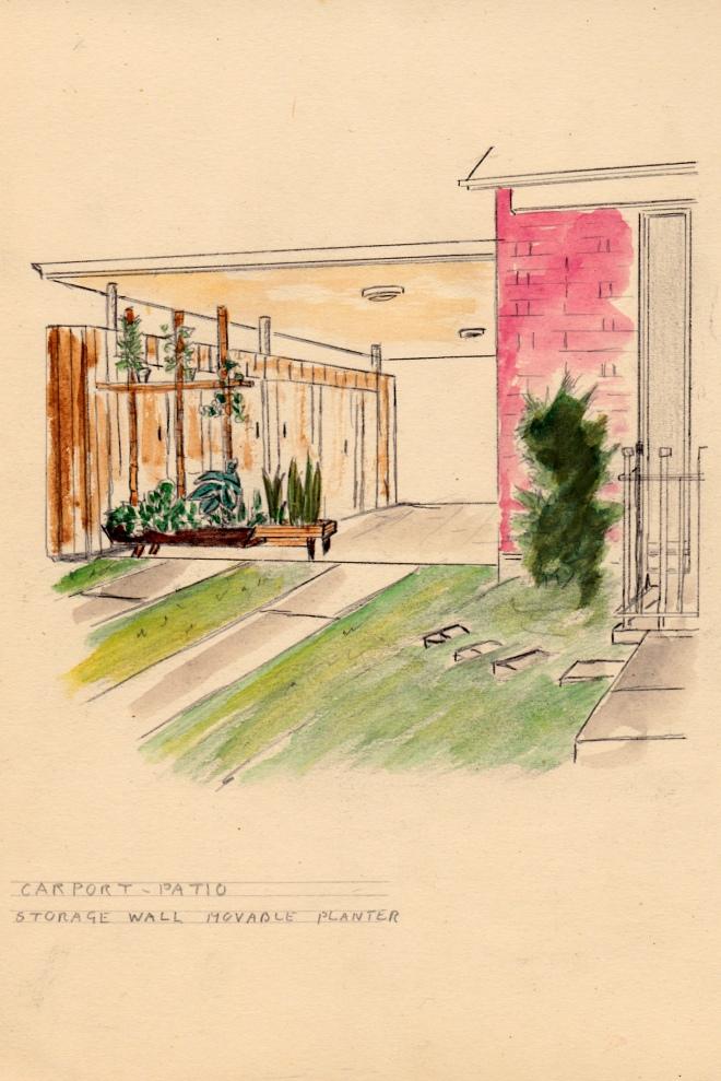 Carport Patio: Eric Milner Designs