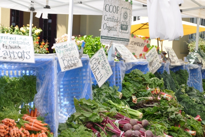 certified organic produce