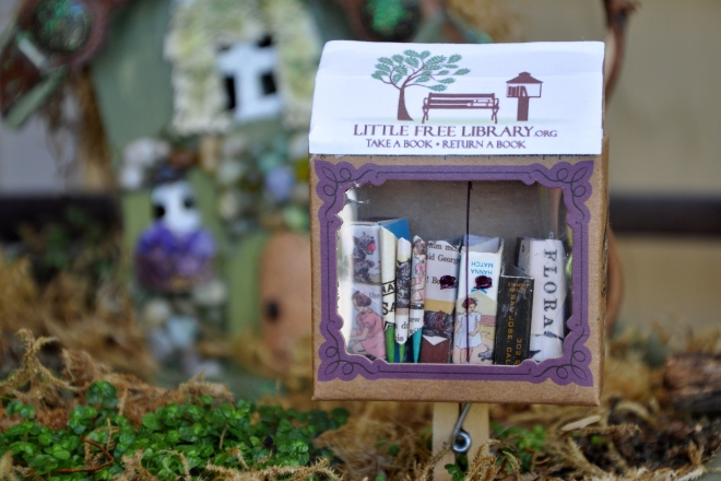 miniature little free library