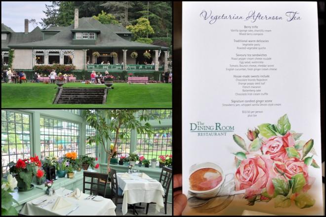 butchart gardens tea room