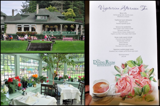 butchart gardens tea room