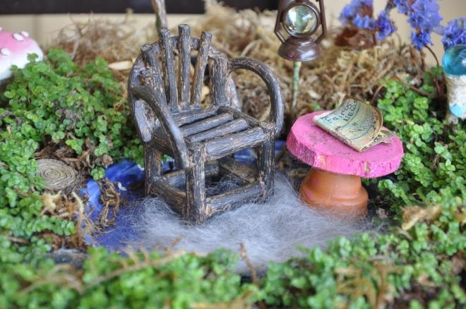 fairy garden rug