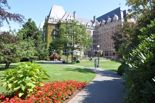 empress hotel gardens