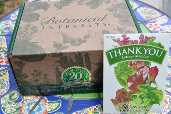 Botanical Interests Box of Seeds
