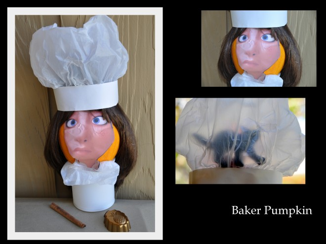 baker pumpkin collage