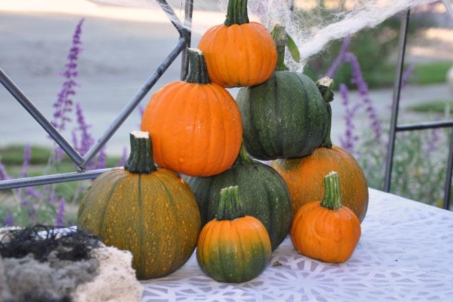 pumpkin pyramid