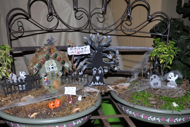 fairy garden haunting