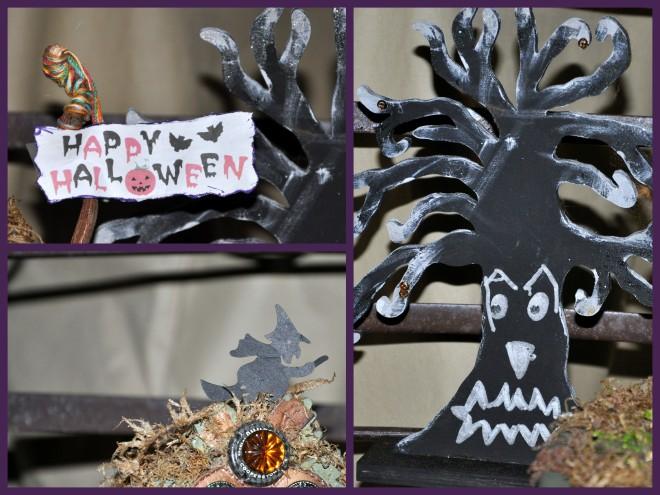 halloween fairy garden 2014