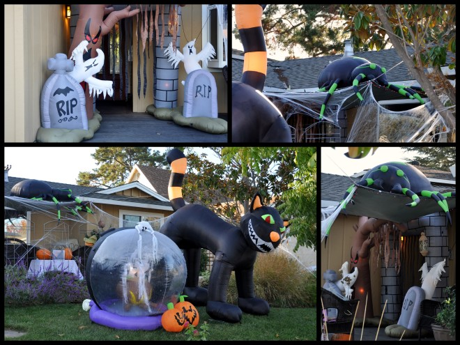 halloween inflatables 2014
