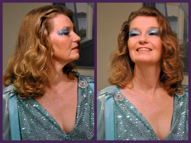 decal and makeup
